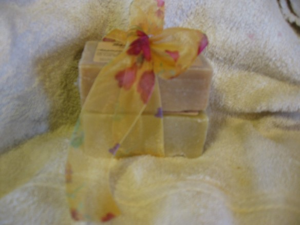 """natural goats milk soap"""