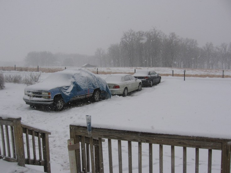 """snow storm hits central virginia"