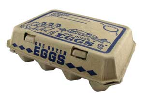 3x4 egg carton box